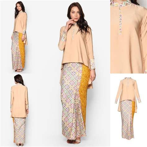 Trend Terkini Baju Kurung Moden Kain Songket Fesyen Trend Terkini Baju