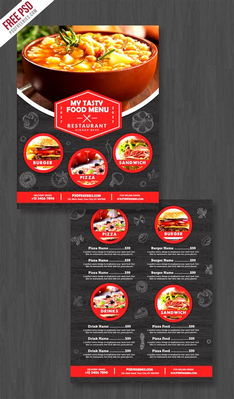 Flyers Restaurant Menu