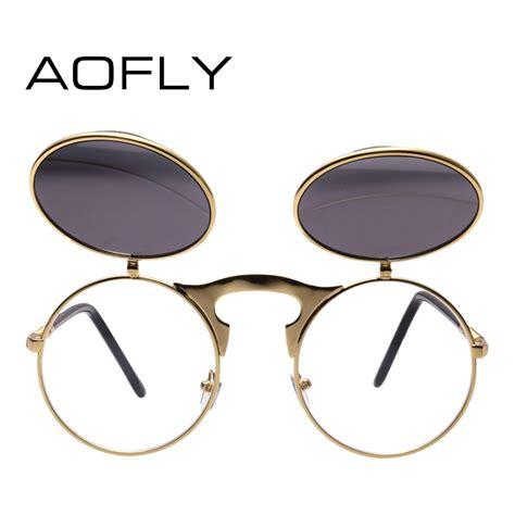 Dijamin Aofly Kacamata Hitam Vintage Steunk Sunglasses aofly kacamata hitam vintage steunk sunglasses black black jakartanotebook