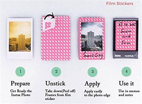 film frames emoji mini instant film camera accessory bundle set photo album