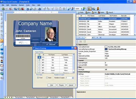 id design maker id card design software