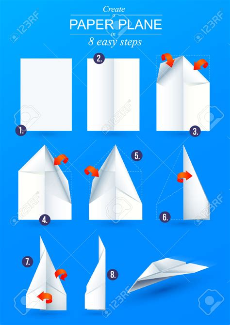 How To Make The Fastest Paper Airplane Step By Step - origami paper airplane calendar paper airplanes