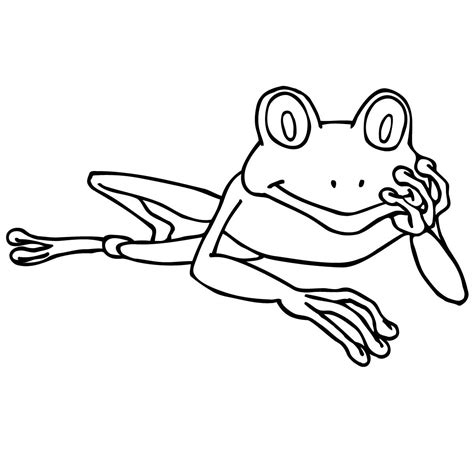 frog clipart black and white bold ideas tree frog clipart black and white photos