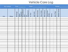 vehicle maintenance log book template vehicle maintenance log book template