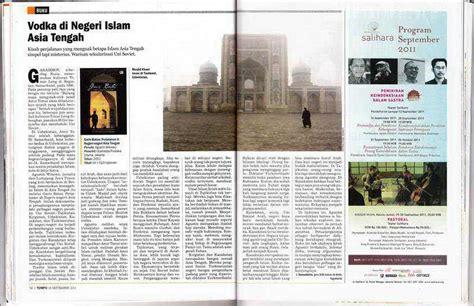 Garis Batas Perjalanan Di Negeri Negeri Asia Tengah Agustinus Wibowo tempo 2011 vodka di negeri islam asia tengah
