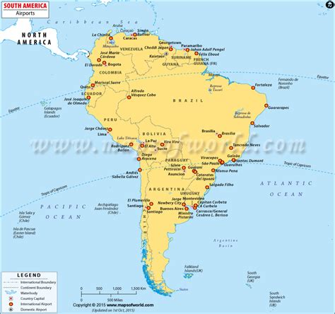 map of airports in usa airports in south america south america airports
