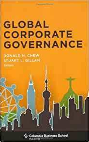 Columbia Mba Textbooks by Global Corporate Governance Columbia Business