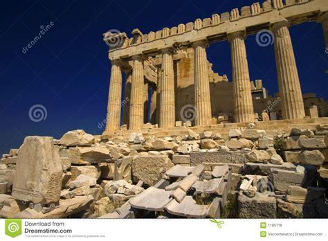 Big Ben Athena parthenon the temple of athena royalty free stock image