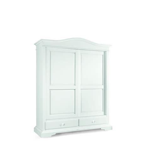 armadio 2 ante bianco armadio classico 2 ante scorrevoli 2 cassetti laccato