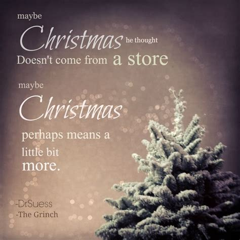 christmas  thought doesnt    store  christmas  means