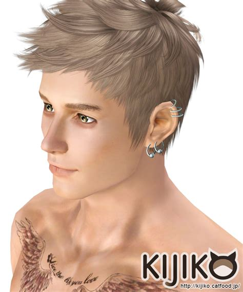 malr hair tumbir faux hawk for male kijiko