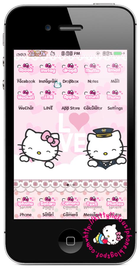 theme hello kitty for wechat kittylicious