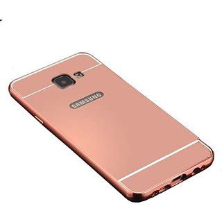Hardcase Ipaky Vivo Y55 Protection 360 feomy aluminum metal bumper detachable mirror back