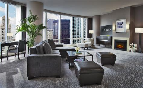 2 bedroom suite chicago suites in chicago trump chicago grand deluxe suites