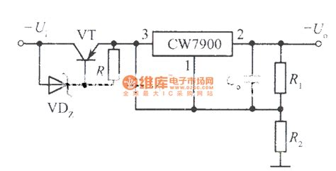 integrated circuit for high voltage high input high output voltage integrated regulated power supply circuit 2 power supply