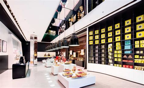 Luxury Home Interior Designs patchi chocolate shop at yas mall by lautrefabrique