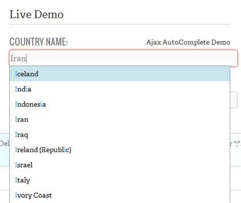 tutorial jquery autocomplete 9 top ajax jquery autocomplete plugins tutorials with