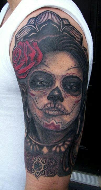 263 best day of the dead tattoos images on pinterest