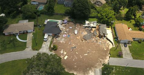 when will florida sink officials don t when florida sinkhole will stop growing