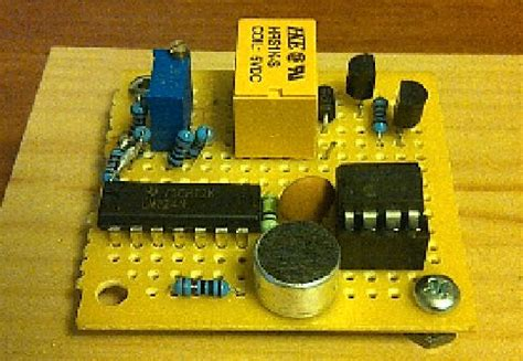 clap to turn off lights how to make a clap clap on clap clap off switch circuit