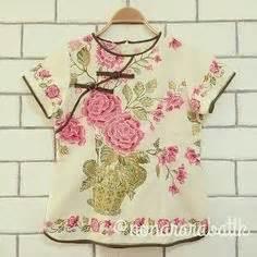 Blouse Bunga Pink indonesia batik batik indonesia kebaya