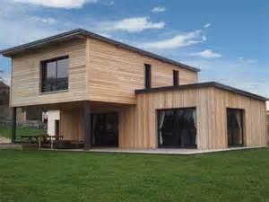 maison moderne bois