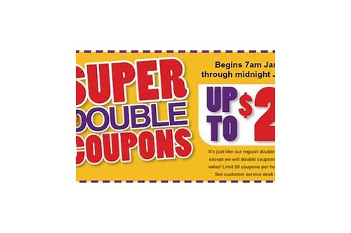 austin tx grocery stores double coupons