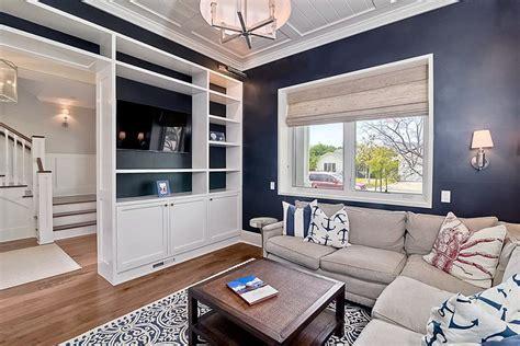 light blue decor for living room