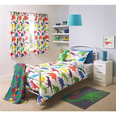 dinosaur bedroom set buy george home dino bedroom set from our bedding range
