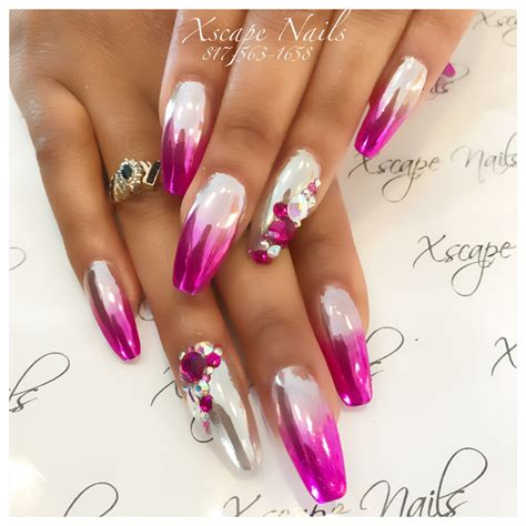 Naglar Design by Ombr 233 Chrome Nails Nails Designs Naglar