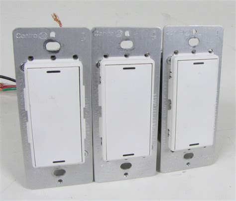 control4 light switch price lot 3 control4 white wireless switches lsz 102 x ebay