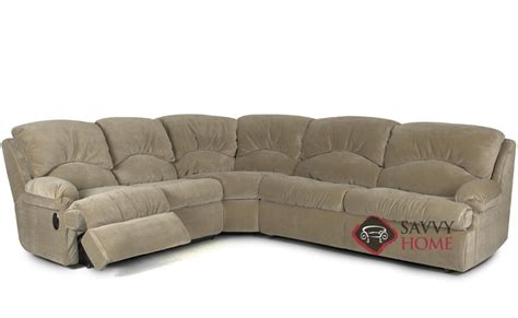 Recliner Sectional Sleeper Sofa by Milan Fabric True Sectional By Savvy Is Fully Customizable
