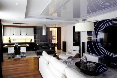 futuristic apartment in space ship style digsdigs