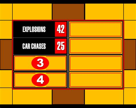 Family Feud Powerpoint Video Search Engine At Search Com Family Feud Template Free