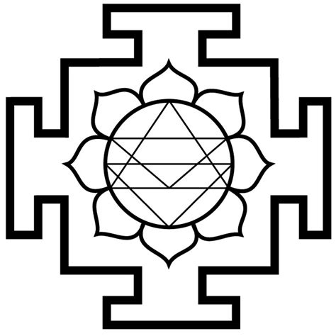 yantra vector symbol download at vectorportal