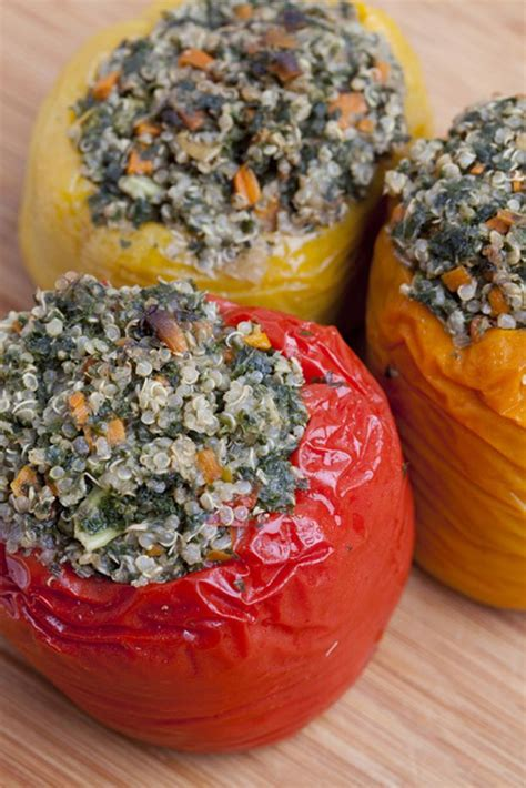 Detox Stuffed Peppers by Start A Summer Detox With Rainbow Stuffed Peppers