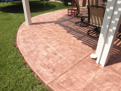 Covering Concrete Patio by Patio Cover Concrete Flooring Options Traditional
