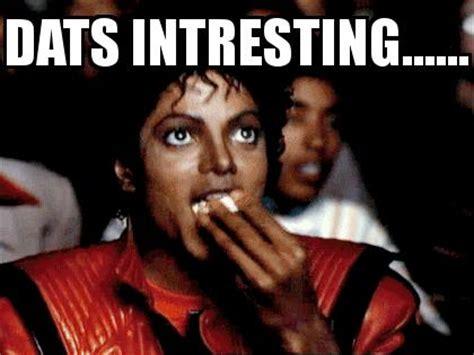 Michael Jackson Eating Popcorn Meme - michael jackson popcorn facebook picture comment character