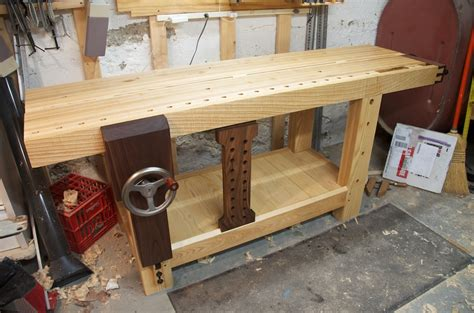 twwbenchcrafted split top roubo bench finewoodworking