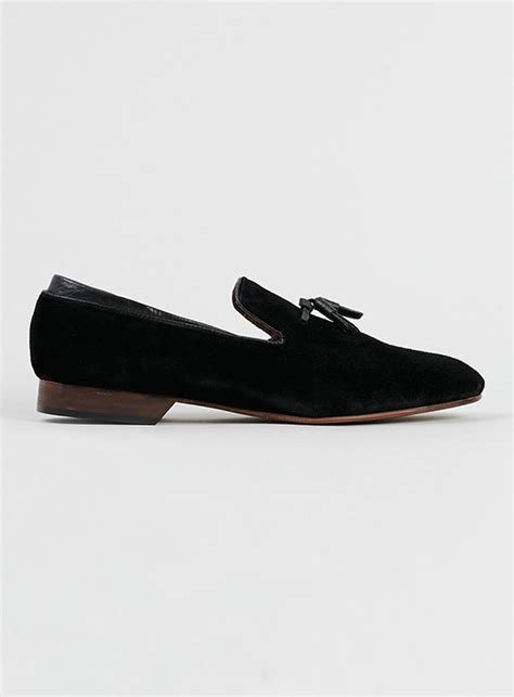 topman tassel loafers topman house of hounds black suede tassel loafers shopstyle