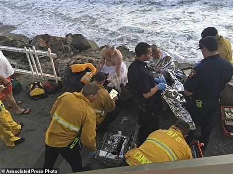 redondo beach boat crash into pier fire official 4 lucky to be alive after boat capsized