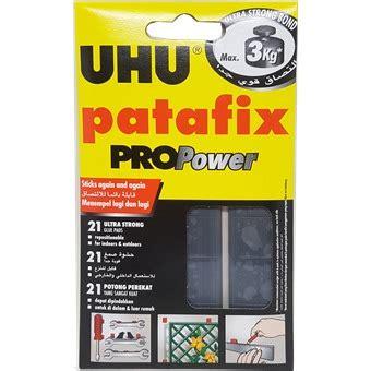 Uhu Patafix Propower Glue Pads uhu patafix propower black removable adhesive up to 3kg