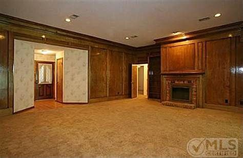 what to do with painting wood paneling in living room