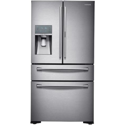 samsung fridge shop samsung food showcase 22 4 cu ft counter depth door refrigerator with single