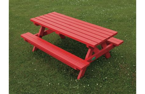recycled plastic picnic benches junior recycled plastic picnic bench 1500