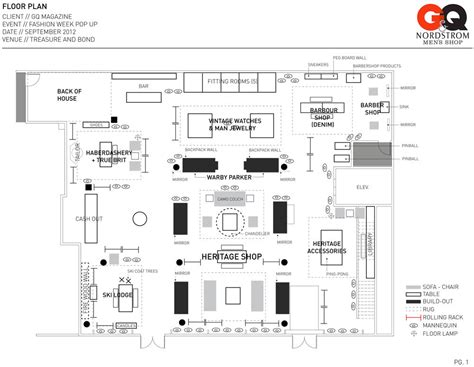 clothing store floor plan here s the plan gq nordstrom men s shop
