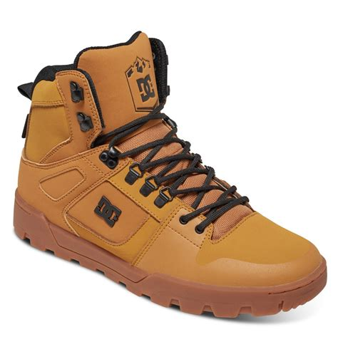 mens dc boots s spartan high boot mountain boots adyb100001 dc shoes