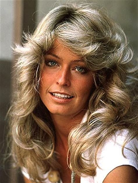 feather hair cuts from the 70 s how to get the look farrah fawcett 5th anniversary 70s