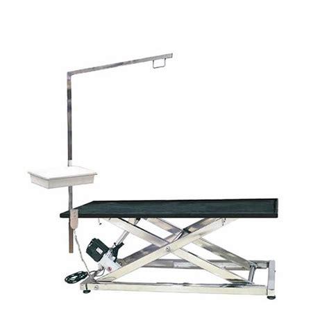 tavolo toelettatura tavolo per toelettatura in acciaio inox elettrico con braccio