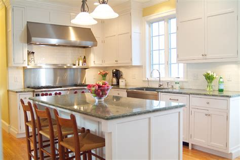classic shaker style white kitchen traditional kitchen